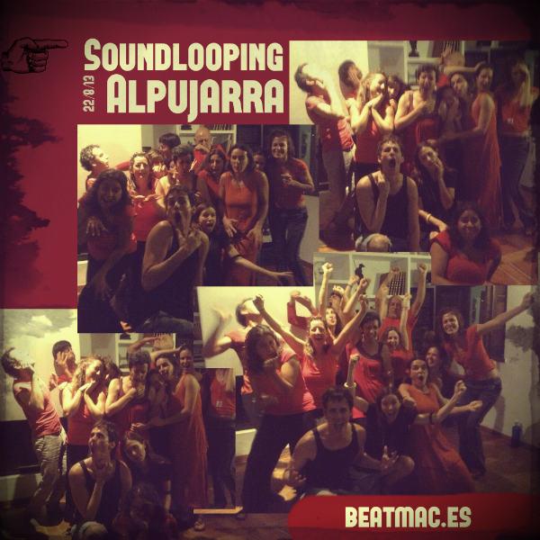 Grupo de improvisación músico-teatral en La Alpujarra